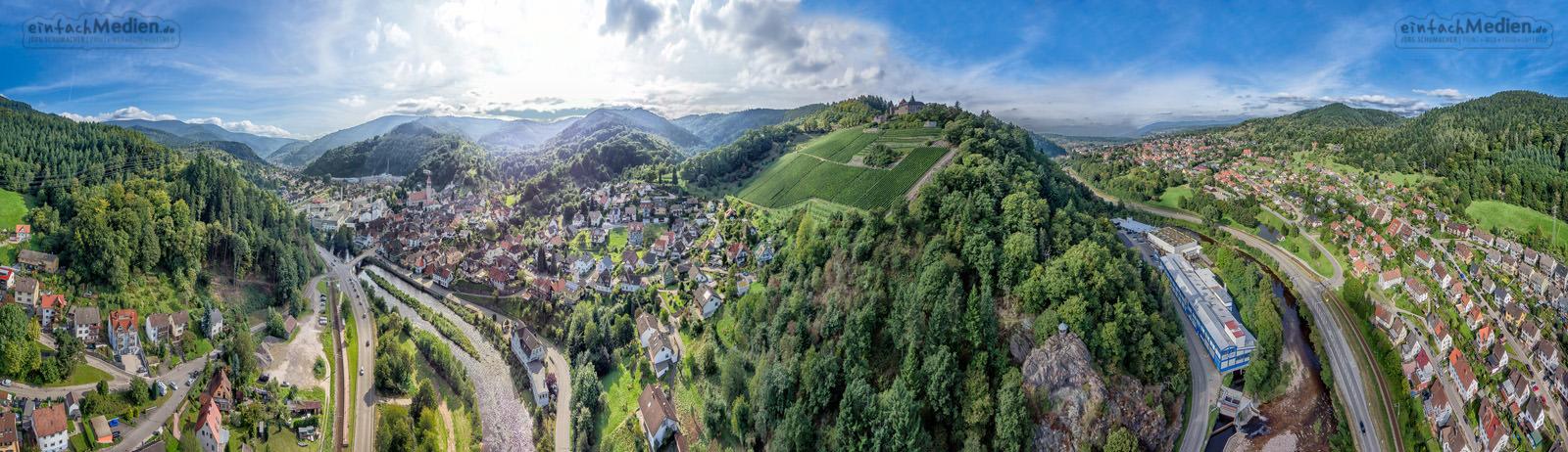 Gernsbach Obertsrot Murg - Schloss Eberstein