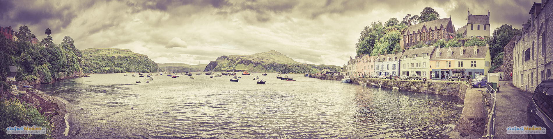 ► Hafen von Portree | Portree Harbour