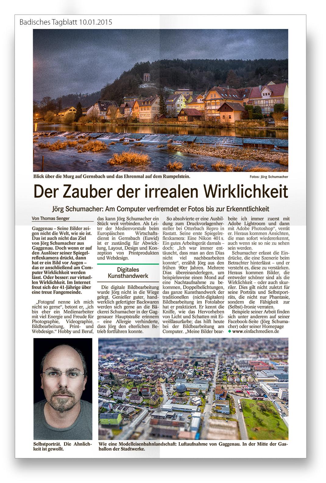 Bericht_Badisches_Tagblatt_Ausschnitt_20150110 Medien
