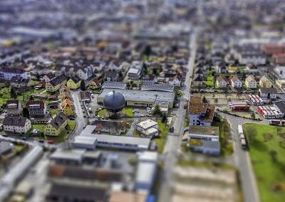 Luftaufnahme (Tiltshift), Gaggenau