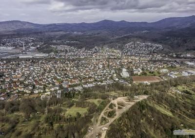Luftaufnahme, Ottenau