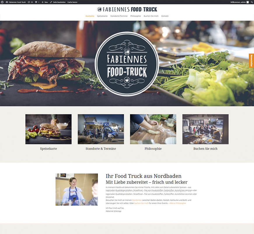 Fabiennes-Foodtruck Design