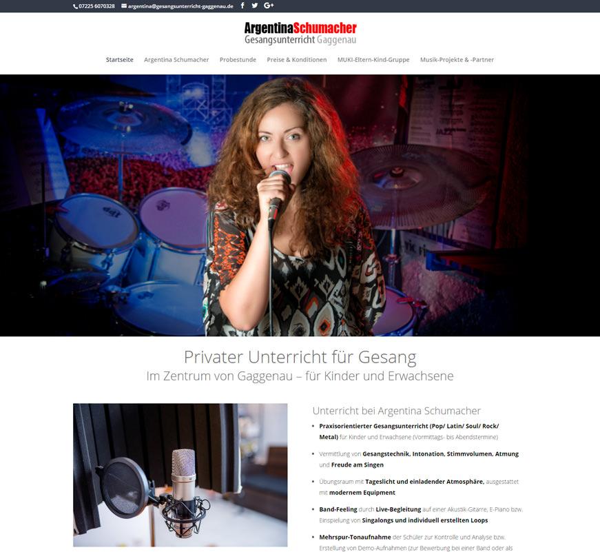 Gesangsunterricht-Argentina-Schumacher-Gaggenau Design