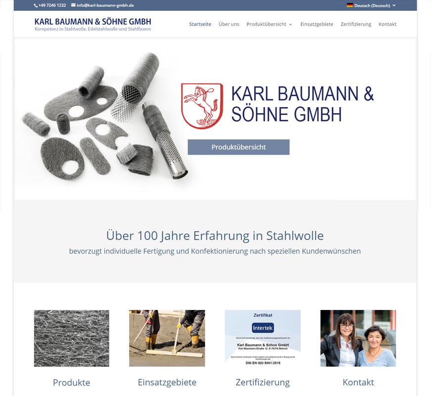 Karl-Baumann-GmbH-Stahlwolle-Waldprechtsweiser Design