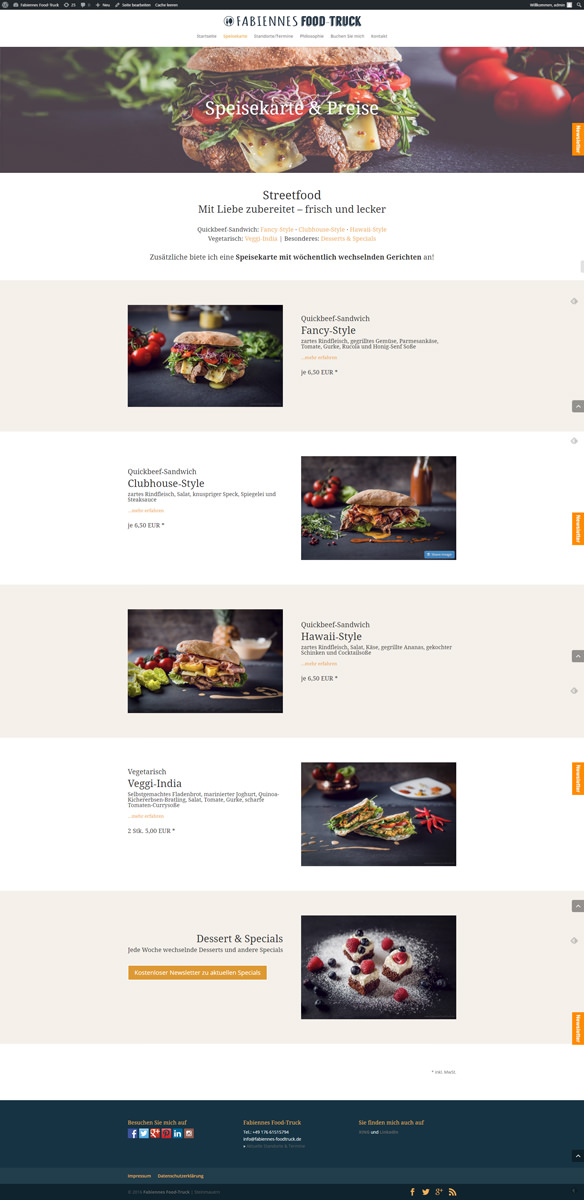 screencapture-fabiennes-foodtruck-de-speisekarte-1480288950008 Fabiennes Foodtruck - Webdesign