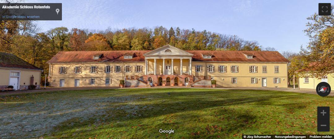 Google-StreetView-Schloss-Akademie-Gaggenau-Bad-Rotenfels Panoramen
